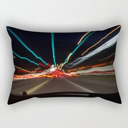 Night Lights Colour Rectangular Pillow