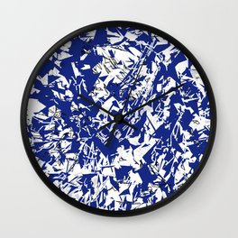 Explosion - 14 Wall Clock