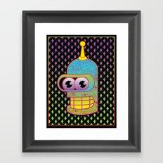 Mr. Shiny Metal  Framed Art Print