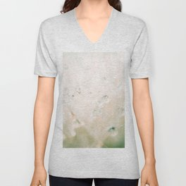 winter reflected in the morning dew Unisex V-Neck