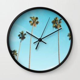 Palm Tree Sunshine Wall Clock