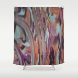 Embouchure of the Saxophone Shower Curtain