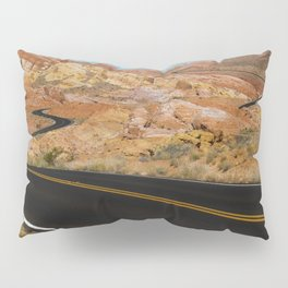 Desert Highway Pillow Sham