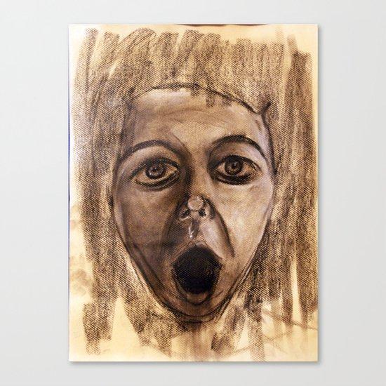 Scream #23 Canvas Print