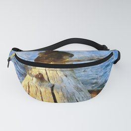 Zen at sunset in Yellowstone National Park, Wyoming Fanny Pack