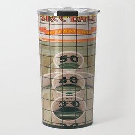 Skee Ball Game Travel Mug