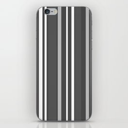 Grey Scale Lines iPhone Skin