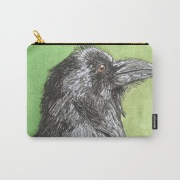 Majestic Raven Carry-All Pouch