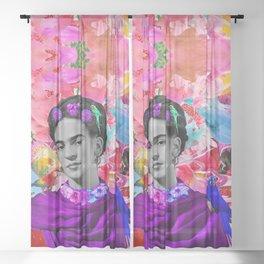 Freeda | Frida Kalho Sheer Curtain