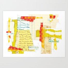 Composition Study No.2 Art Print