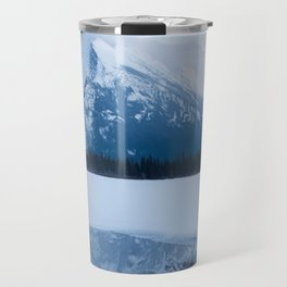 Winter in Banff Alberta Travel Mug