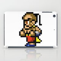 final fantasy iPad Cases featuring Final Fantasy II - Yang by Nerd Stuff