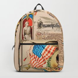 1863 Emancipation Proclamation by President Abraham Lincoln Backpack