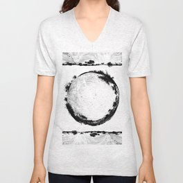 Coachella Valley Desert Sphere Tee Unisex V-Neck