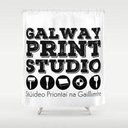 Galway Print Studio Shower Curtain