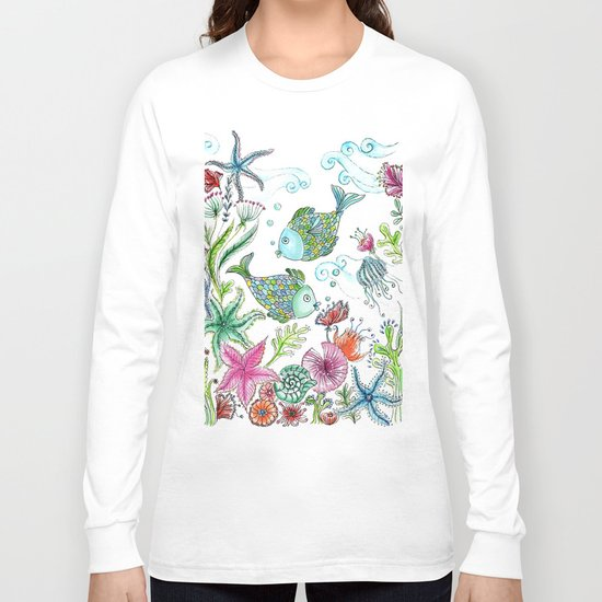 2 fishes Long Sleeve T-shirt