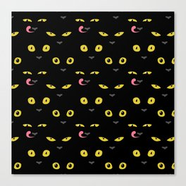 It's a day. Just too many black cats Canvas Print