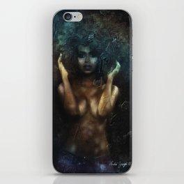 Pretty Black Girl #2 iPhone Skin