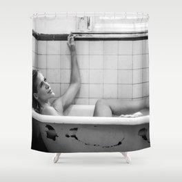 Thinking woman ll Shower Curtain