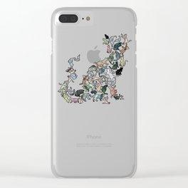 Soul Cat Clear iPhone Case