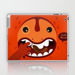 Cookie Monster Laptop & iPad Skin