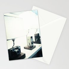Vintage Camera Lamps Stationery Cards