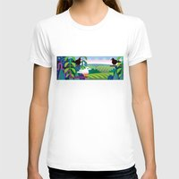 jungle T-shirts featuring Jungle by charker