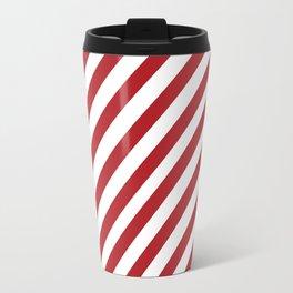 Candy Cane - Christmas Illustration Travel Mug
