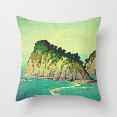 Heading towards Ohzu Throw Pillow