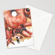 Moonbot #1: Red Stationery Cards