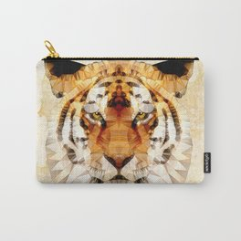 abstract tiger Carry-All Pouch