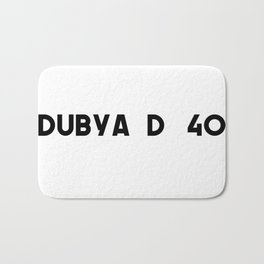 Dubya D 40 Bath Mat