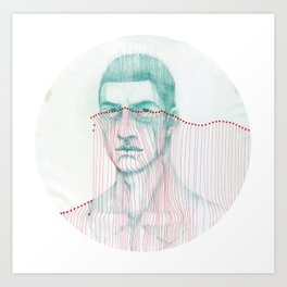 Misfit Circuit 2 Art Print