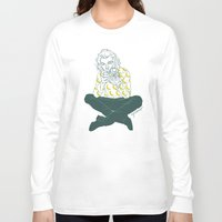 cyrilliart Long Sleeve T-shirts featuring Banana Boy by Cyrilliart