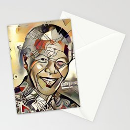 Nelson Mandela Centenary Memorial Picture (Limited Edition) Stationery Cards