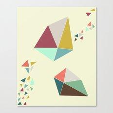 Geome(tri)c Canvas Print