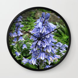 bluebells Wall Clock