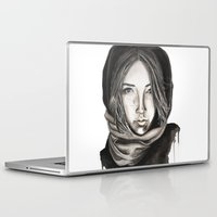 ice Laptop & iPad Skins featuring Ice by Kylerg