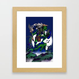 Dungeons, Dice and Dragons - Goblins Framed Art Print