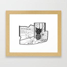 Hilton House Framed Art Print