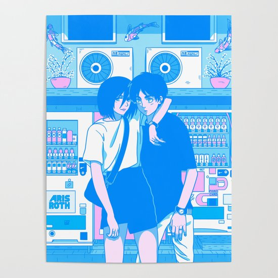 Shibuya Summer Break - Aesthetic Anime Interpretation (AoT) by arisroth