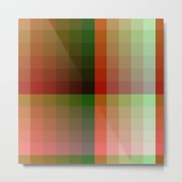 Color harmony ...red , green Metal Print