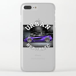 Car - Concept super -By Shima Clear iPhone Case