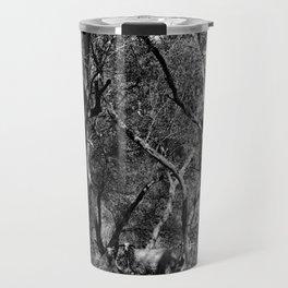 The Olive Maze (I) Travel Mug