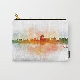 Rome city skyline HQ v03 Carry-All Pouch