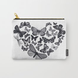 BUTTERFLY LOVE MONO Carry-All Pouch