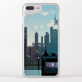Morning over Carbon Valley Clear iPhone Case