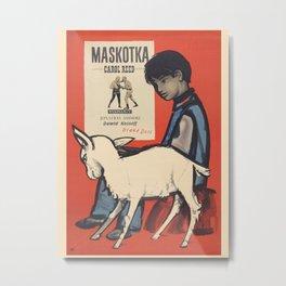 Polish Film Poster -A Kid For Two Farthings 1955. Metal Print