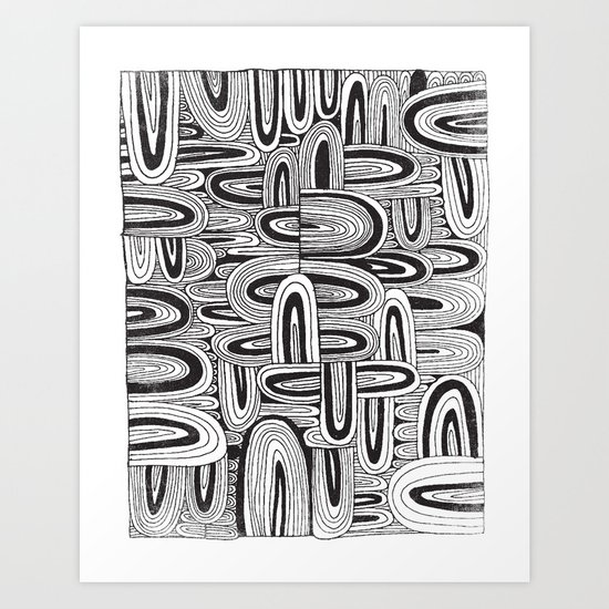 REPEATER Art Print