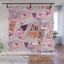 Love Languages Wall Mural